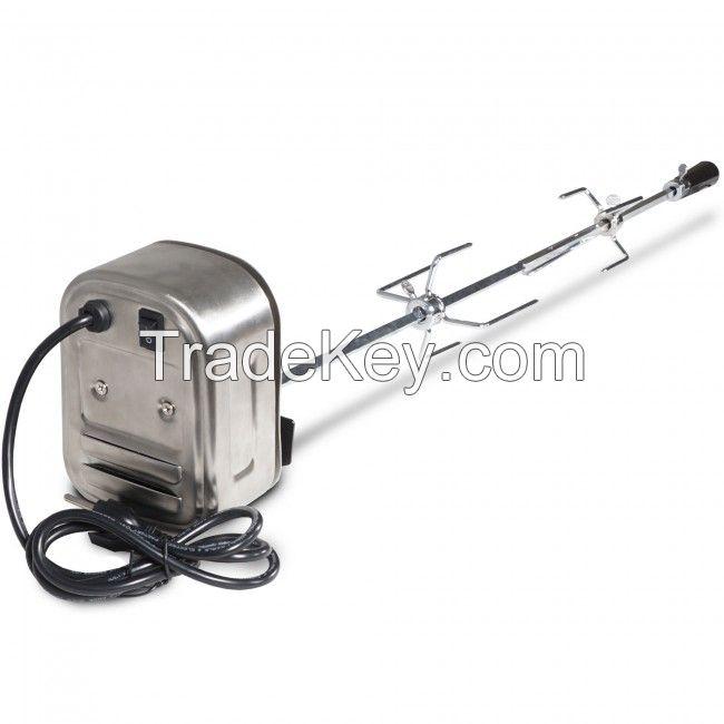 Electric Deluxe Heavy Duty BBQ Rotisserie Motor
