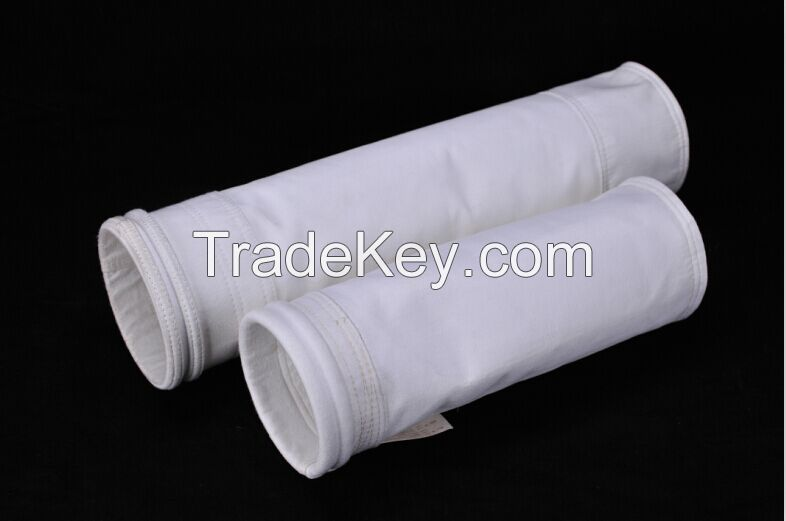 High temperature PTFE dust collector filter bag