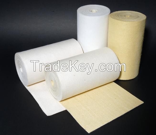 High temperature acrylic dust collector filter cloth