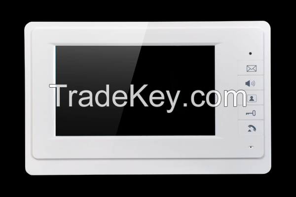 2016 Hot selling 7inch color screen villa video doorbell