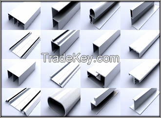 Aluminum Fly Secreen Profiles
