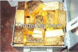 AU gold nuggets and bars