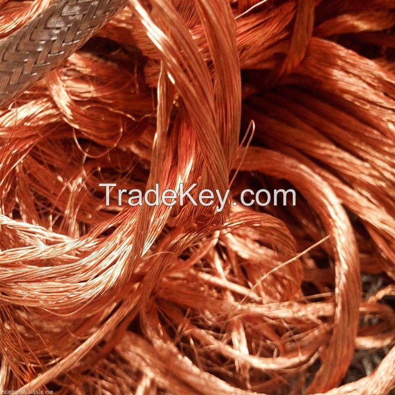 ORIGINAL  COPPER WIRE MILLBERRY SCRAP 99.9% AND COPPER CATHODE