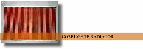 copper radiator core