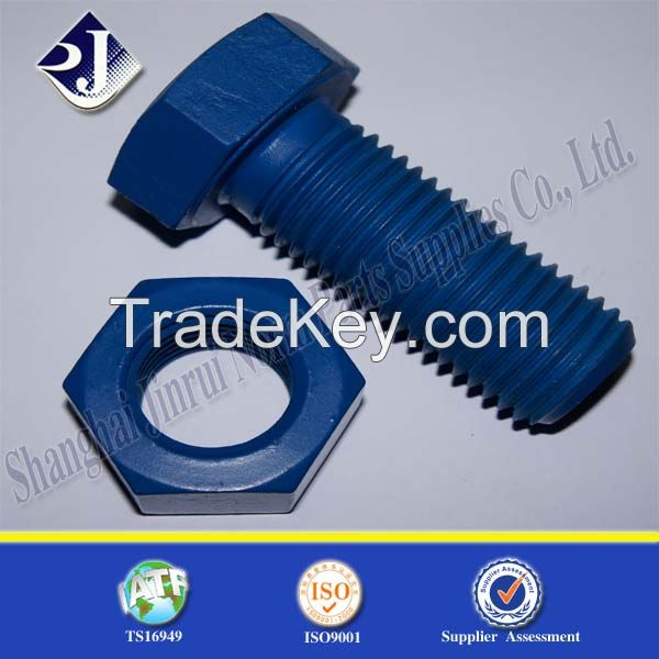 online shopping high stength alloy steel teflon hex bolt and nut