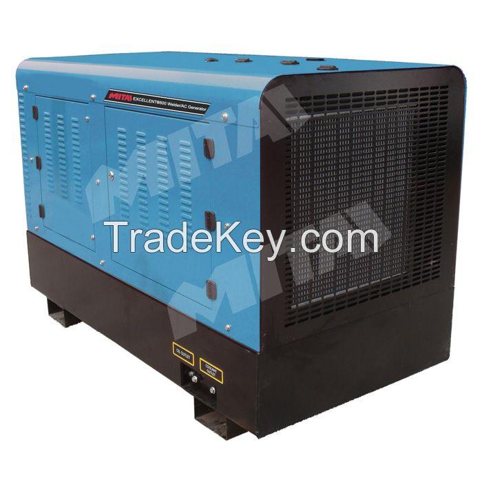 Silent 21KW Welding Generator With Deutz Engine