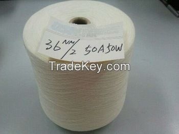 20% off- blended yarn 70% wool,30%nylon