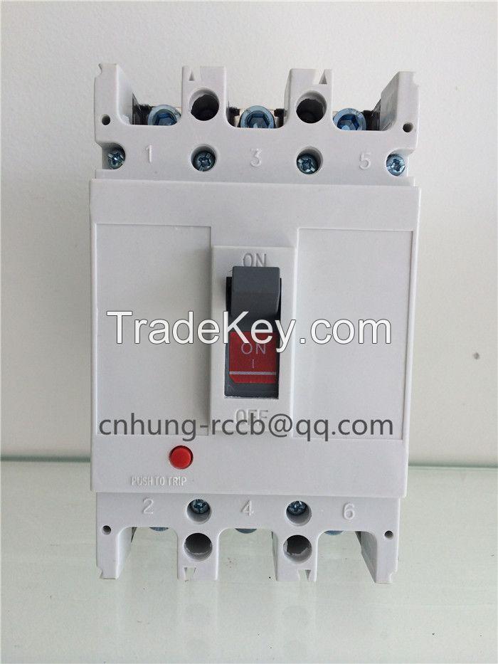 CM1 MCCB 3P 4P 100A-630A moulded case circuit breaker