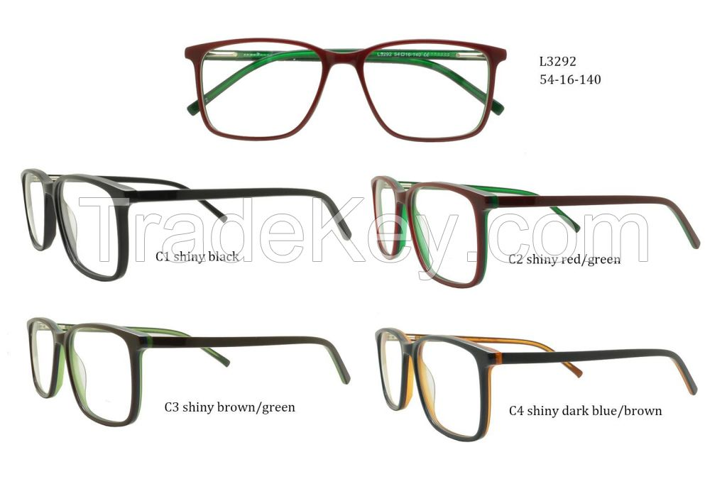china wholesale optical frame manufacturer flexible eyeglass JC9019