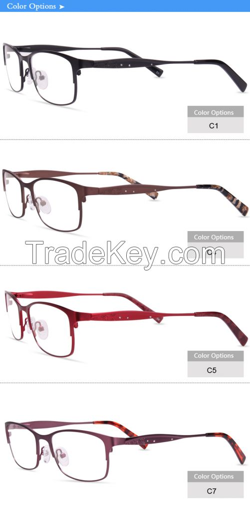 china wholesale optical frame manufacturer flexible eyeglass JC8038