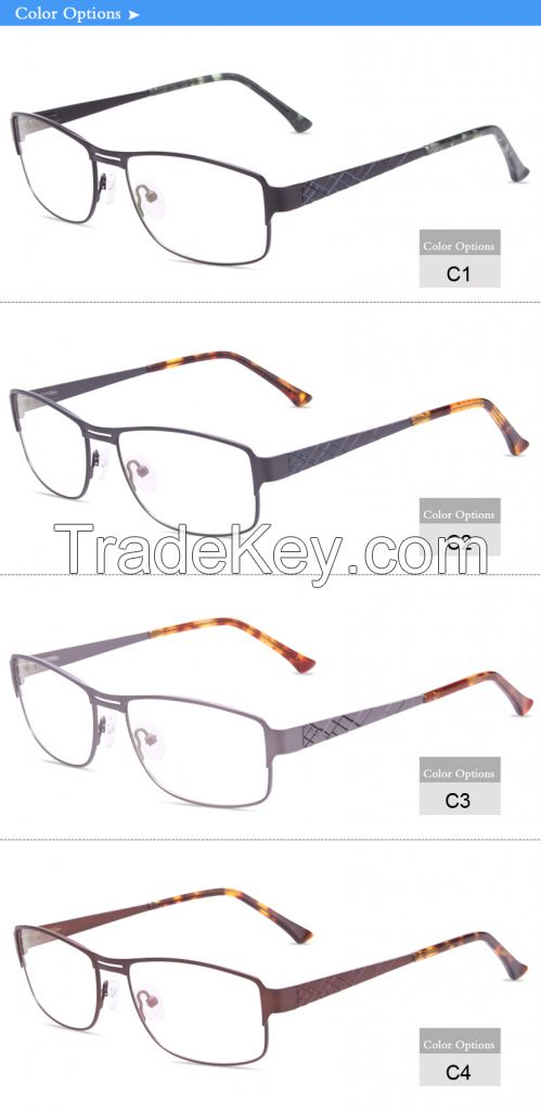 china wholesale optical frame manufacturer flexible eyeglass JC8038