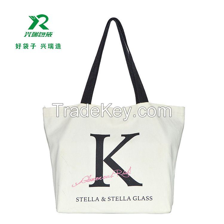 China Manufacturer Cotton Canvas tote bag for shopping promotional advertising gift bag