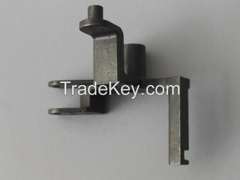 MIM lock part deformed pin customed spare metal parts