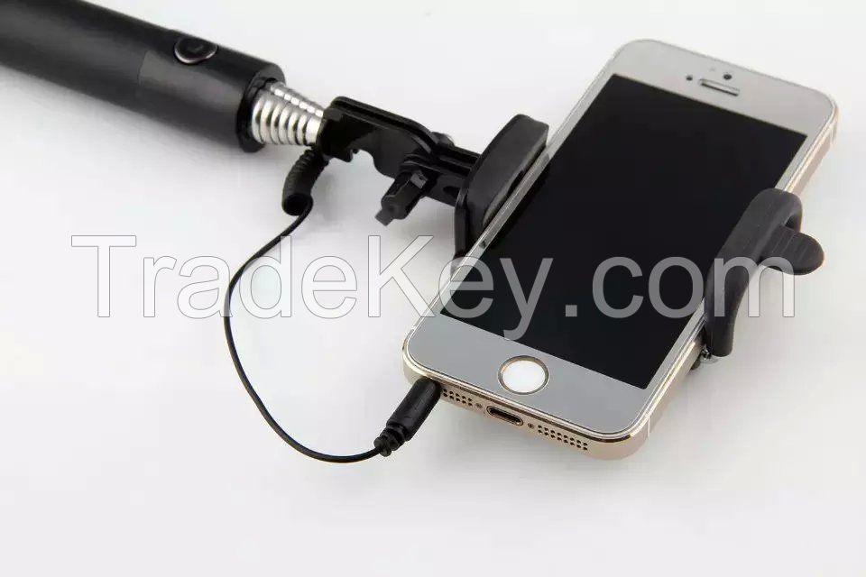 Selfie Stick Extendable Monopod , Wired Selfie-Stick