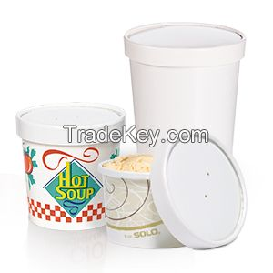 Flexstyle® Double Sided Poly (DSP) Paper Food Containers - Combo Packs