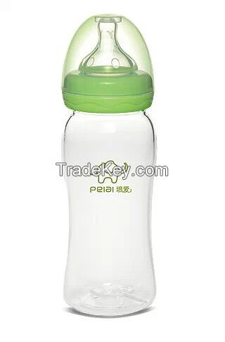 280ml wide-neck crystal glass bottle