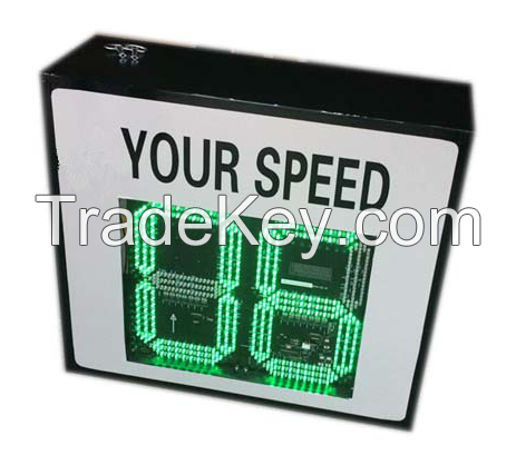 low price speed radar sign led display outdoor warning display