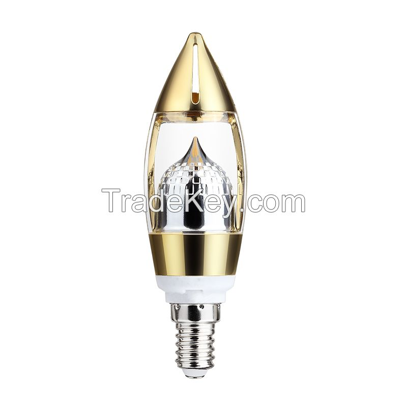 New design dimmable LED candle light 4.5W