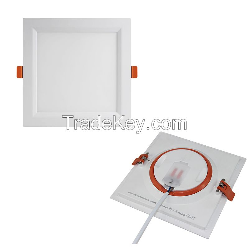 New design detachable power LED recessed luminaires