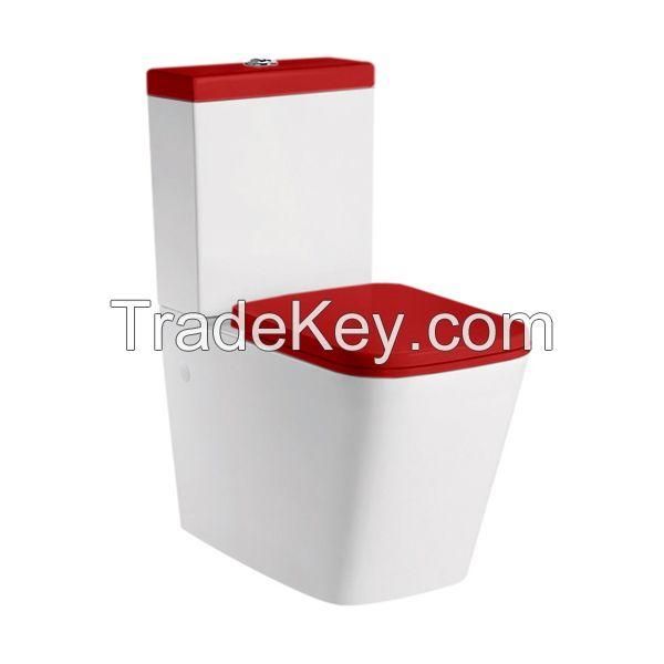 washdown two-piece toilet