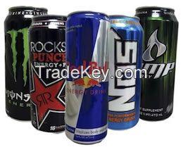 Energy Drinks All Brands Energy Drinks, Monsterz, Rockstar