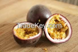 Frozen Passion Fruit Pulp with certificates