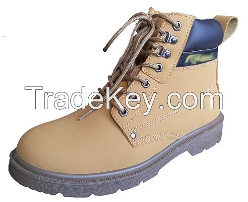 Waterproof Safety Shoes with Genuine Leather and Steel Toe
