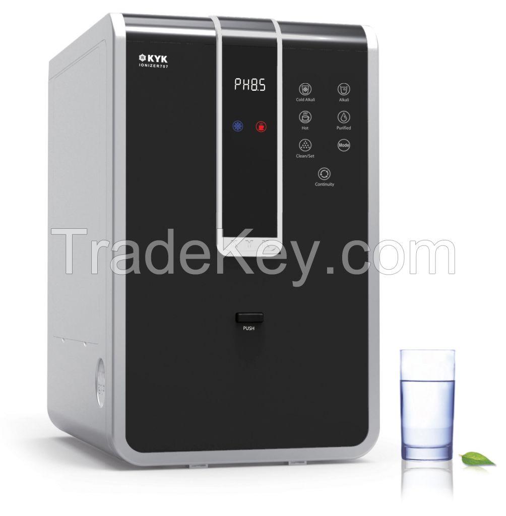 Alkaline water ionizer from SOUTH KOREA (KYK 707)