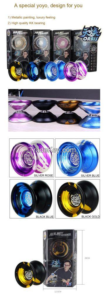 2016 High quality metal yoyo, 4 colors option, christmas gifts