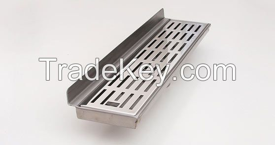 Convenient Stainless Steel Shower Linear Floor Drain