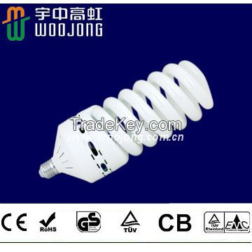 High wattage Spiral 45W -125W Energy Saving Lamp