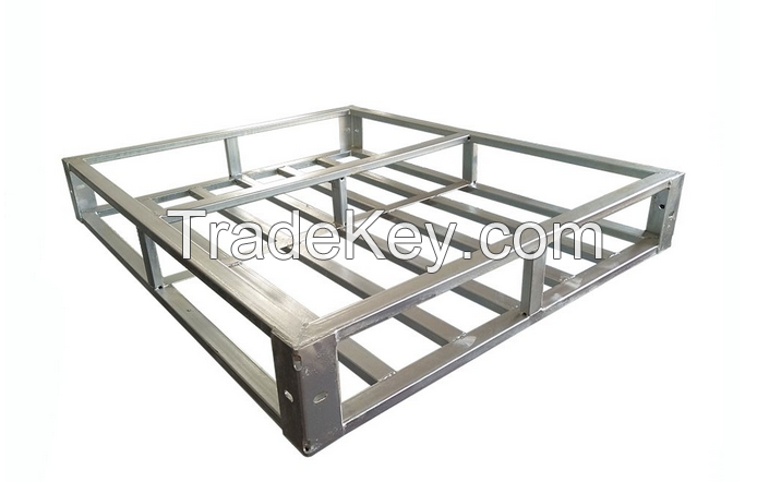 Customized High Quality Stackable Heavy Duty Steel Pallet