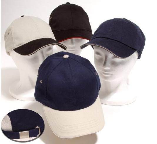 6-Panel Brushed Cotton Cap