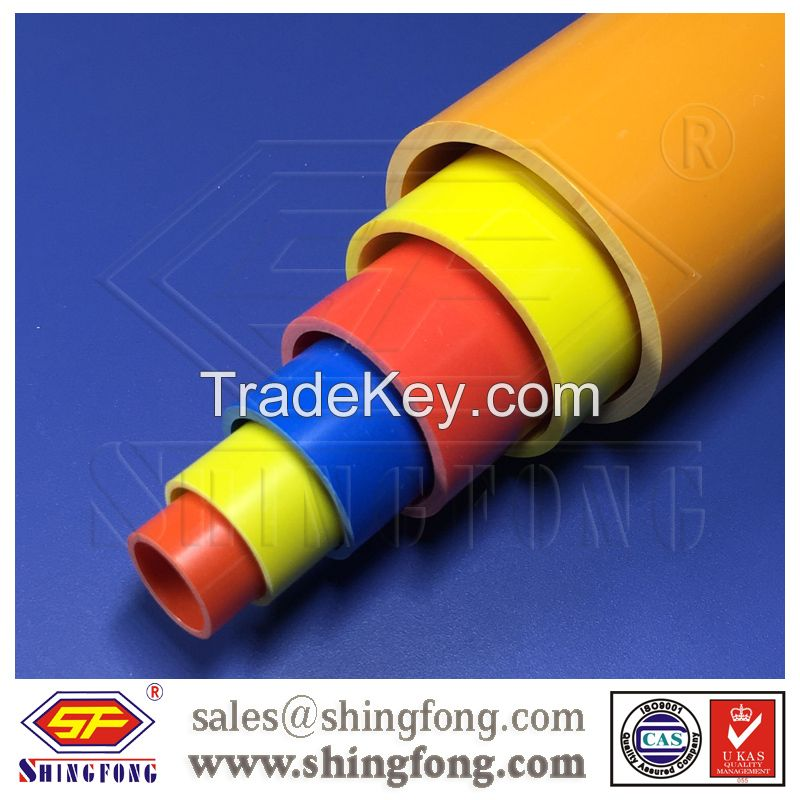 decorative Electrical pvc conduit pipe