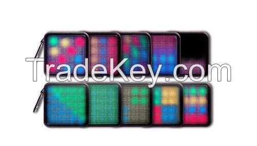 WOOZIK WIRELESS Bluetooth speaker, 10 dynamic lighting themes 4W