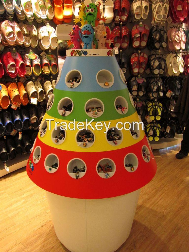 Custom made retail fixtures, displays and POP