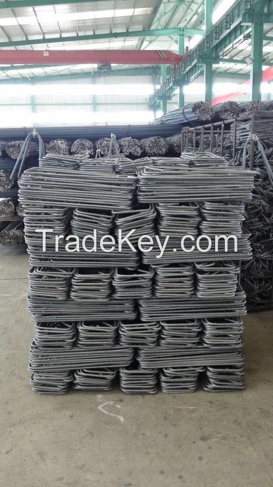 Rebars processing High Quality Rebar Stirrups For Construction Factory stirrups for construction.
