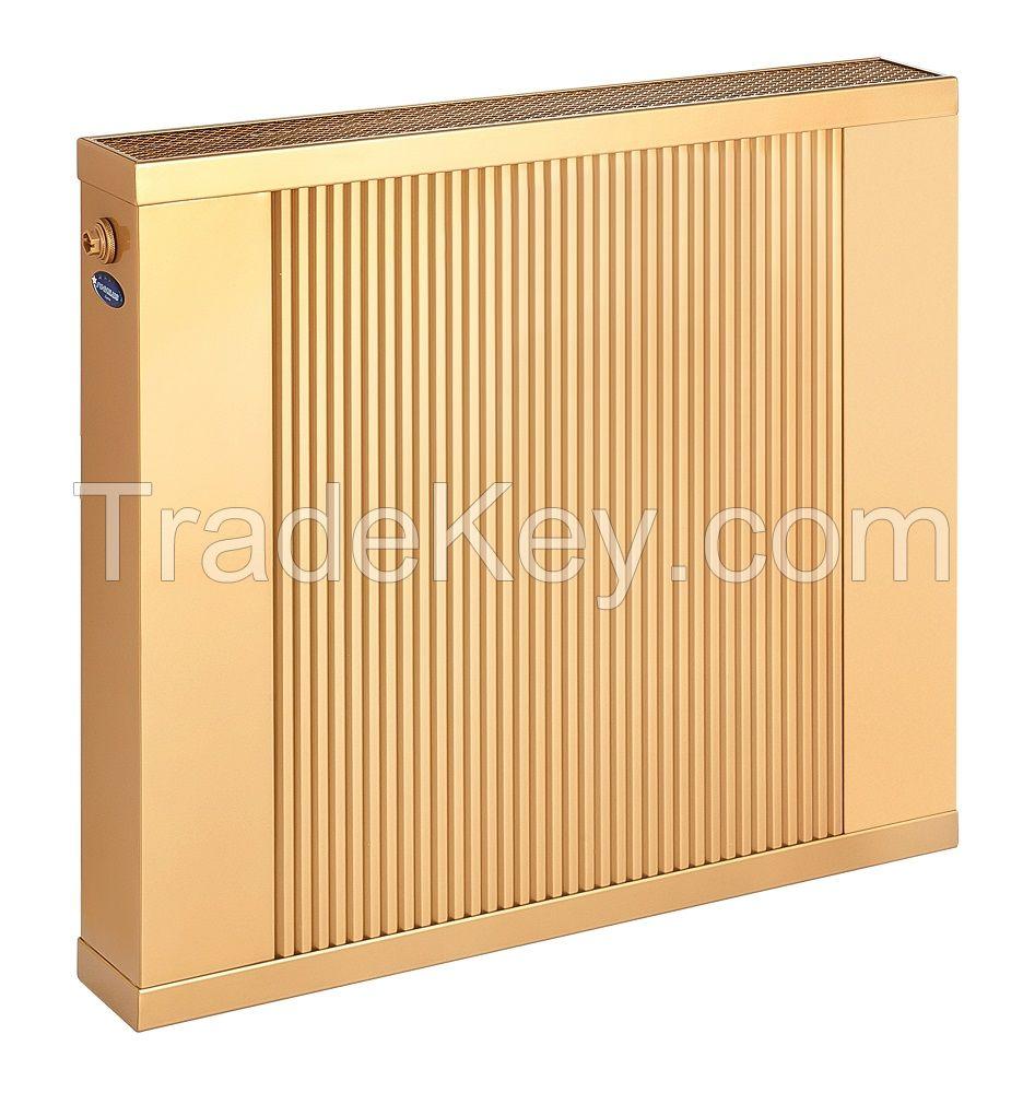 REGULUS-system SOLLARIUS copper-aluminium water radiator, wall heater