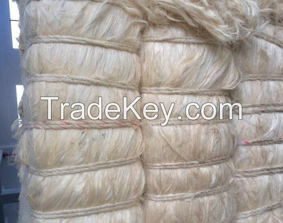 Best Price 100% Natural Sisal Fiber/ Sisal Fibers UG Grade/Raw Kapok Fiber