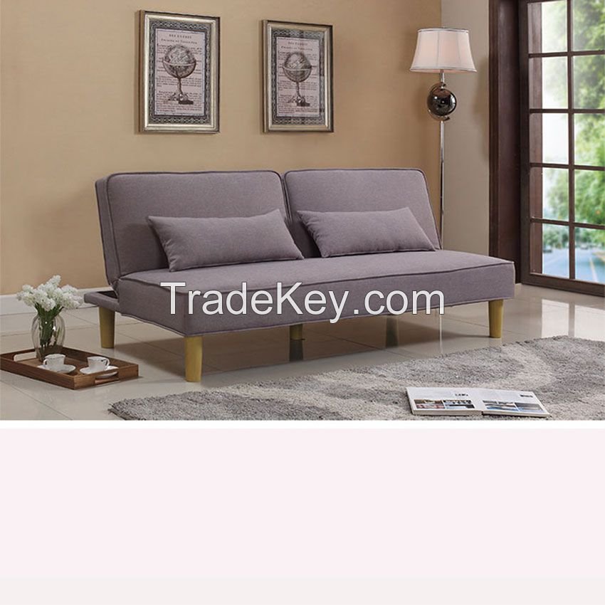 living room sofa bed folding fabricsofa double seat furniture manufacturer