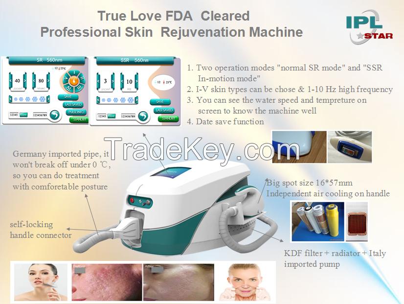 IPL Beauty Machine (CE, ISO and FDA)