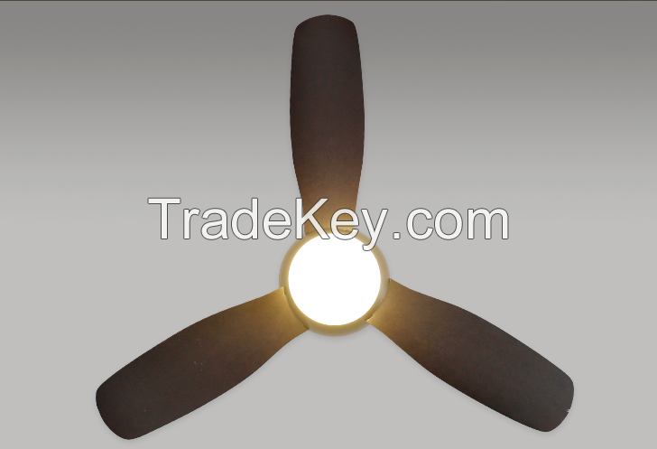 modern ceiling fan with led light