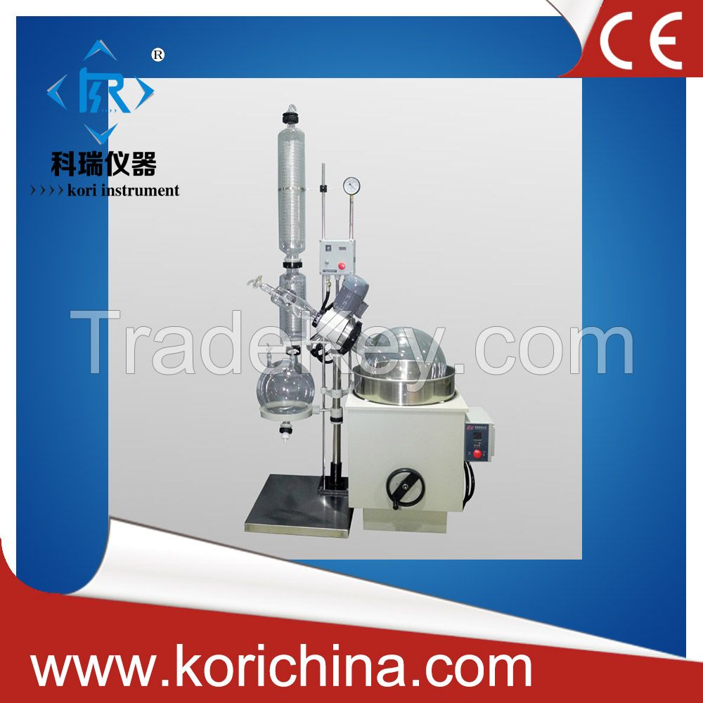 10L glass jacketed rotary evaporator with ex-proof motor