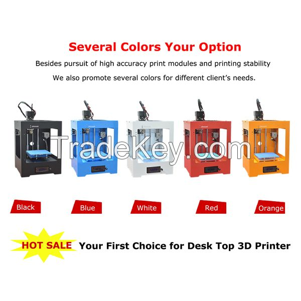 New products dual extruder Pro Digitizer Printer 3D Metal