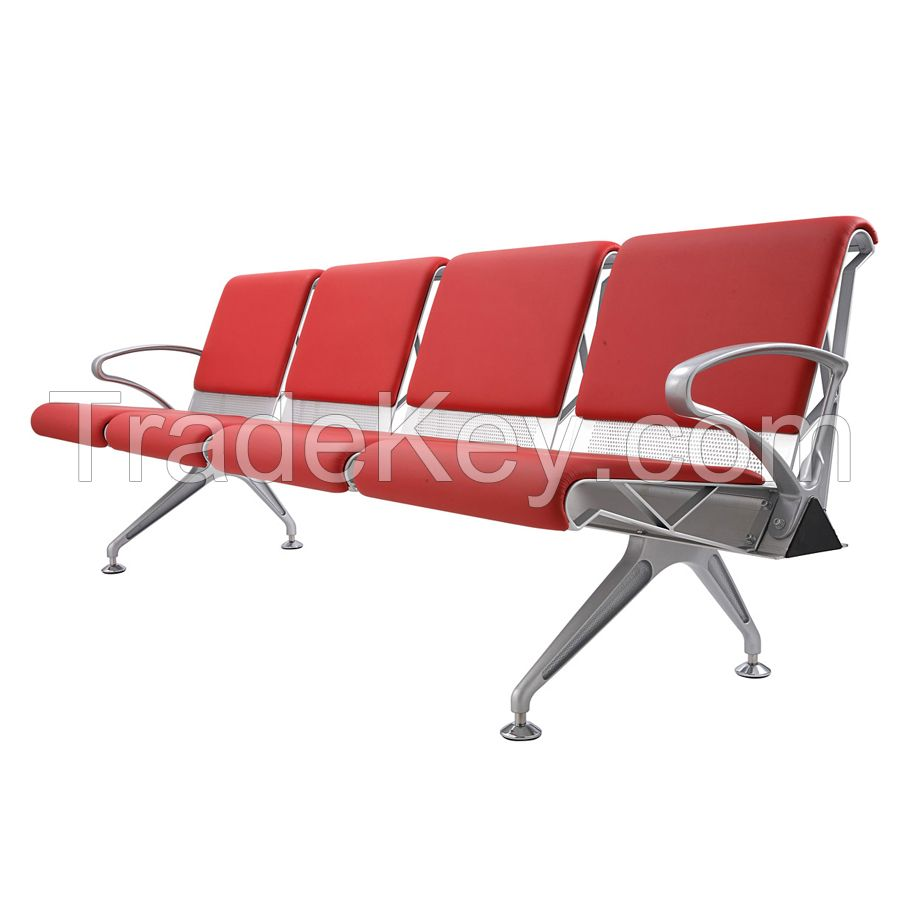 Lounge bench for public waiting room