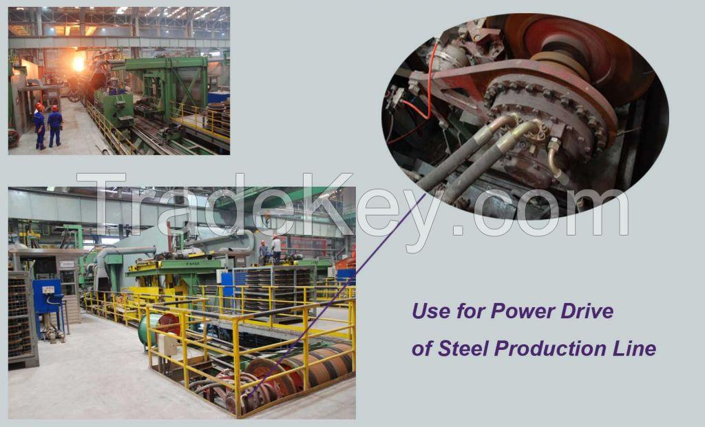 Hydraulic motors compact CA motor CA50 20SA0N00 for plastic machine