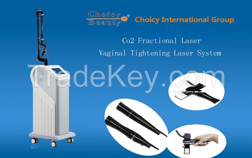 Skin Lifting Laser Beauty Care Equipment Fractional CO2 CO2 fractional