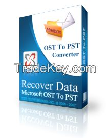 Recover Data for OST to PST Converter Tool