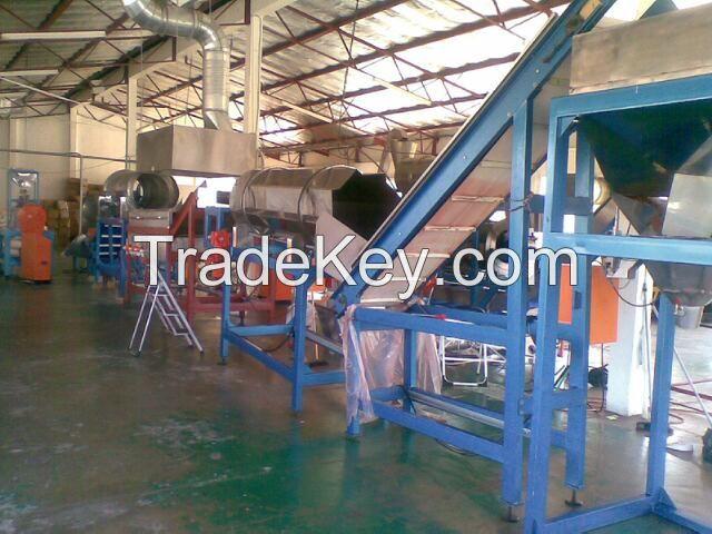 Kurkure production line