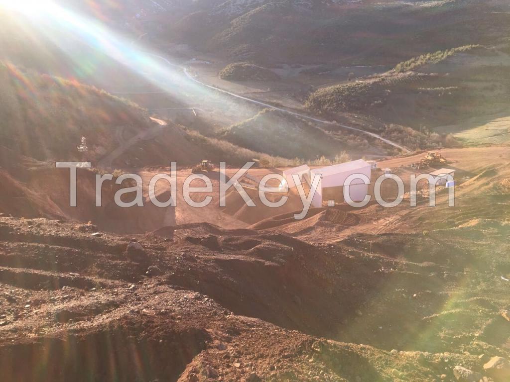 Bauxite in Bulk from Turkey    Fraction   0-100mm